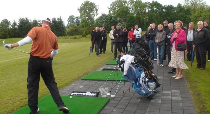 Åbning af Kildebjerg Ry Golfbane pay & play