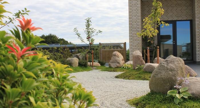 Den japanskinspirerede have 2