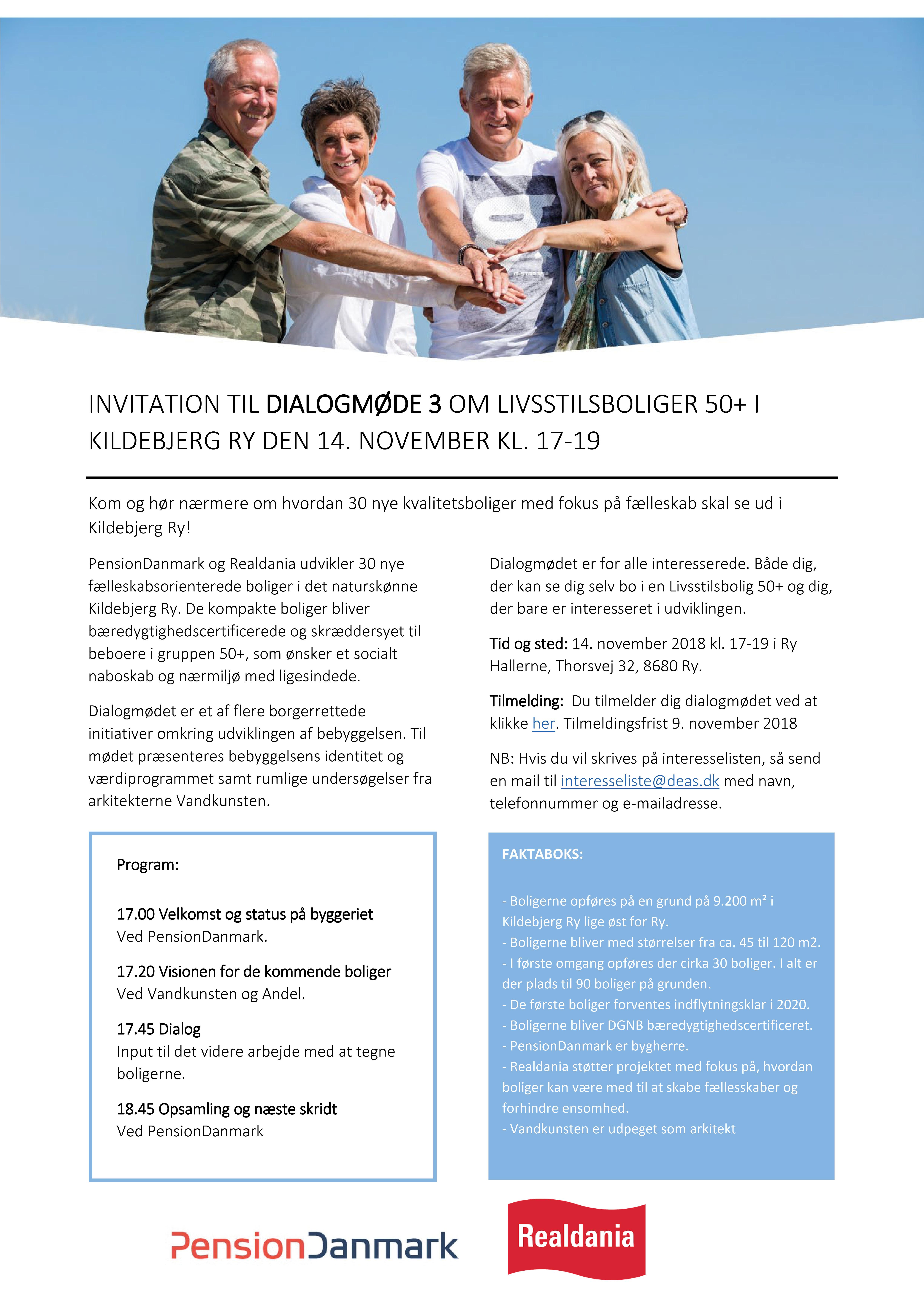 Invitation til 3. dialogmøde