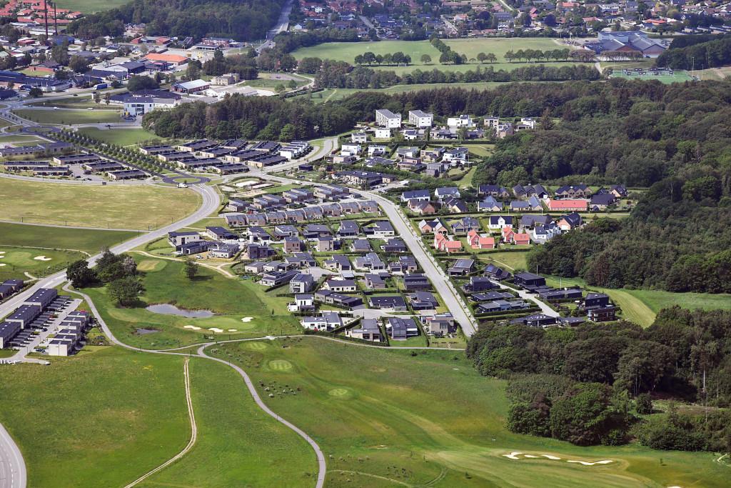 Kildebjerg Ry Vestfasen set fra nord