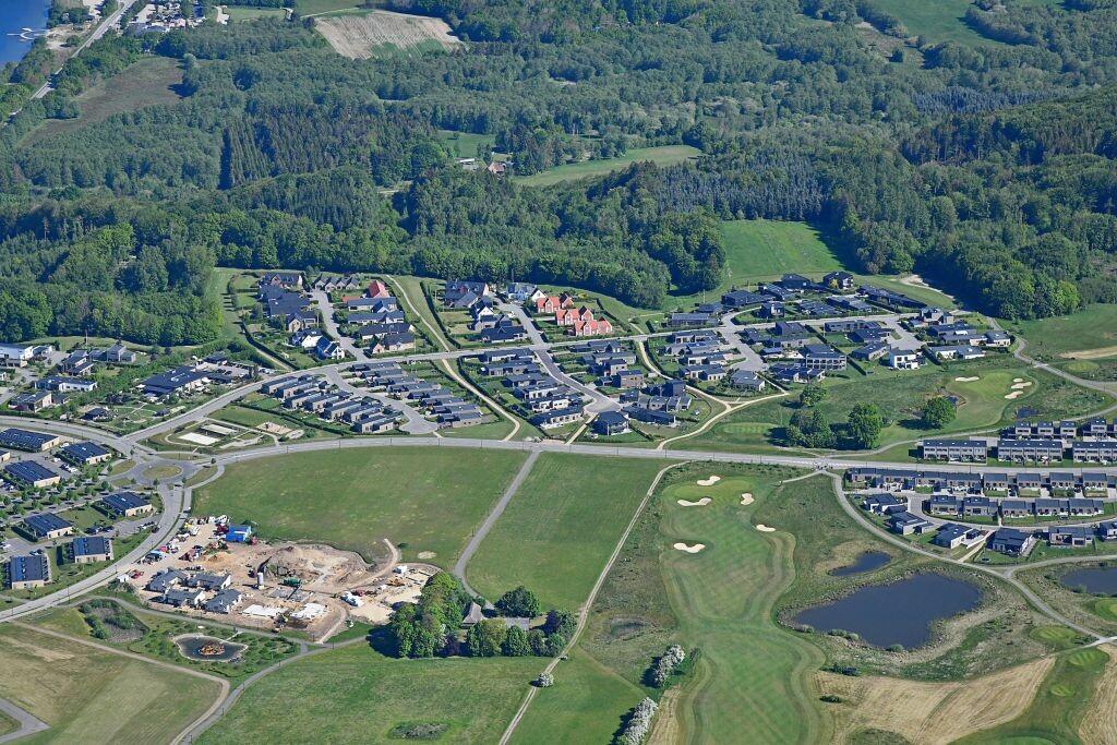 Kildebjerg Ry Vest- og Midtfasen set fra syd